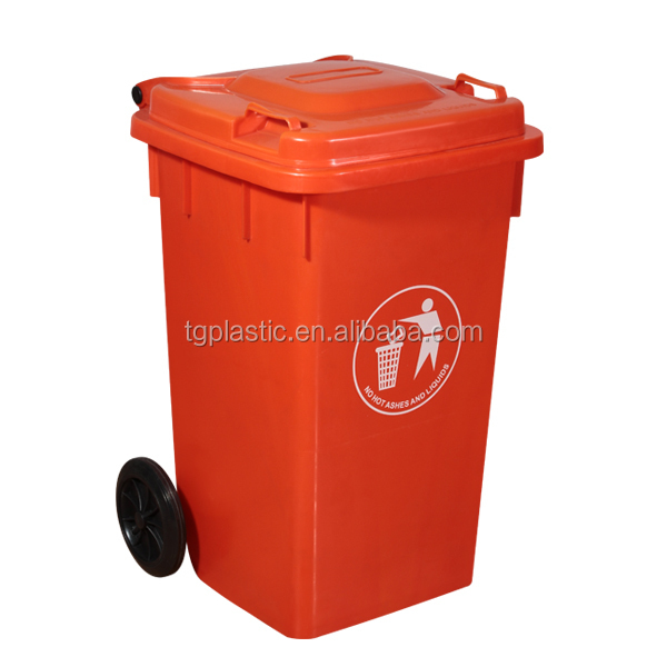 100L clear plastic garbage cans