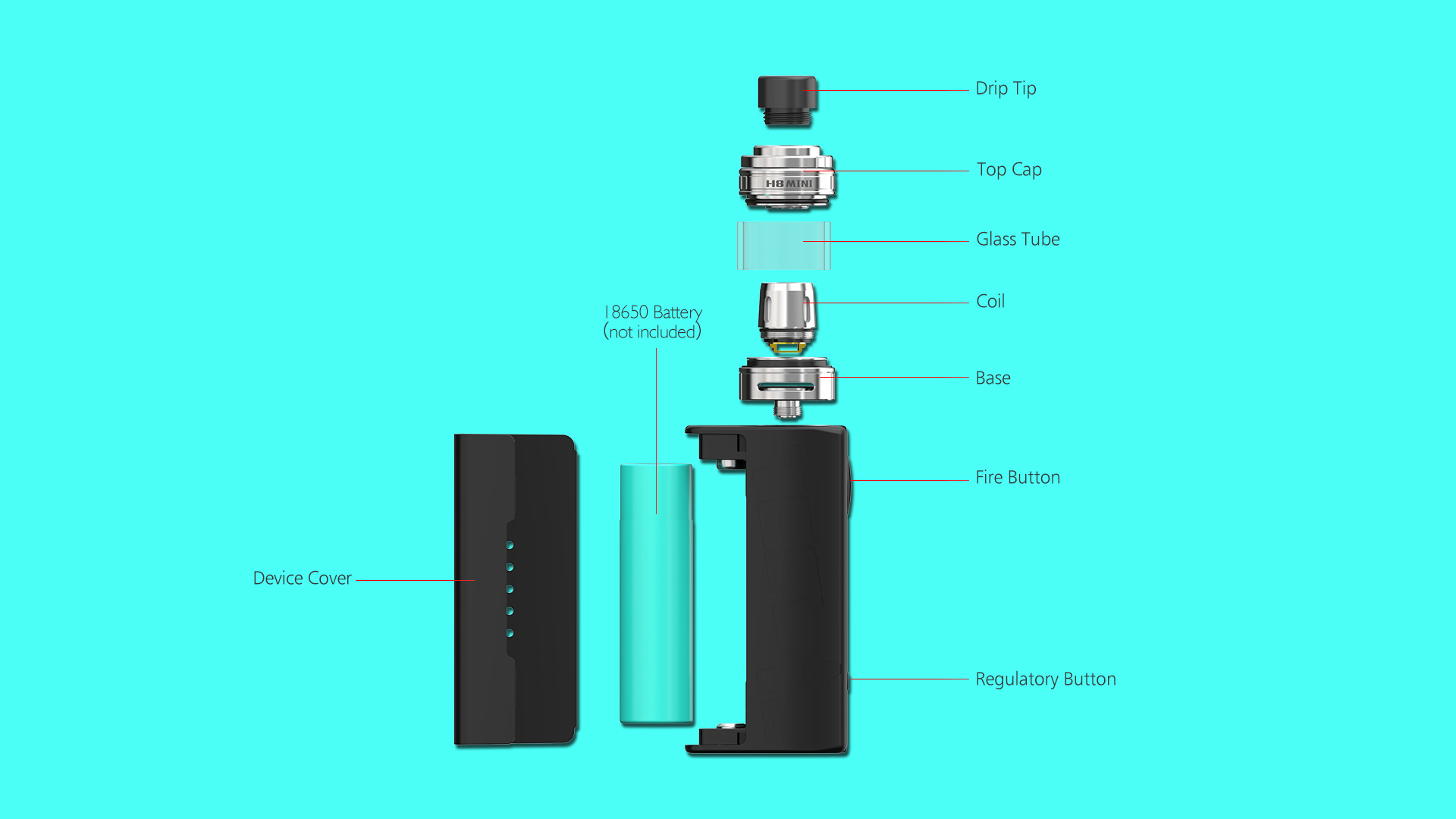 New Product Ideas 2018 Tesla WYE 85W Electronic Cigarette Box Mod Kit
