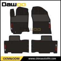 used for TOYOTA RAV4 2014 waterproof rubber car floor mat
