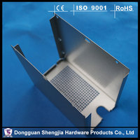 sheet metal bended aluminum switch control devices stamping encloure boxes