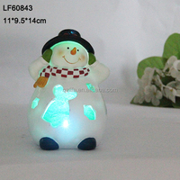 led light christmas snowman decoration