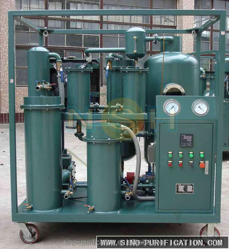 Mobile Lubricated Oil Water Centrifuge Separator