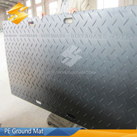 ISO Certification plastic road mats for temporary roads/protect road cover pe plastic ground mat Made in Huaxiang