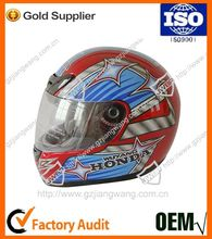 Factory Hot Good Quality Custom Full Face Motorcycle Safety Helmet