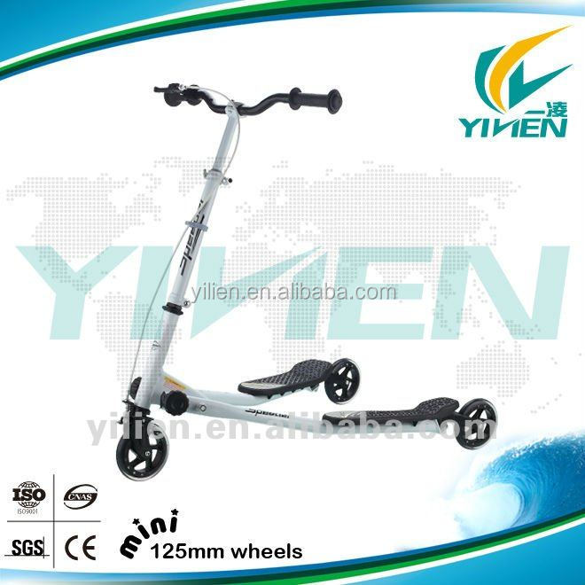 3 wheel 200mm big wheel Adult kick scooter with EN tested