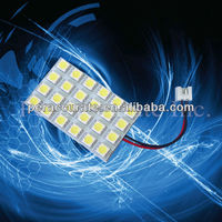 5050 SMD PCB 12V Automotive 24smd Auto Car LED Light Accessories for Chevrolet Captiva use PA