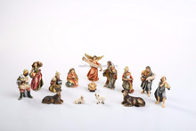 Religious Items Nativity Scene Christmas Village Houses Resin