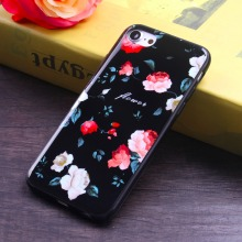 Amazing Quality Flower Case Cheapest Price IMD phone case for iPhone 7 / 6