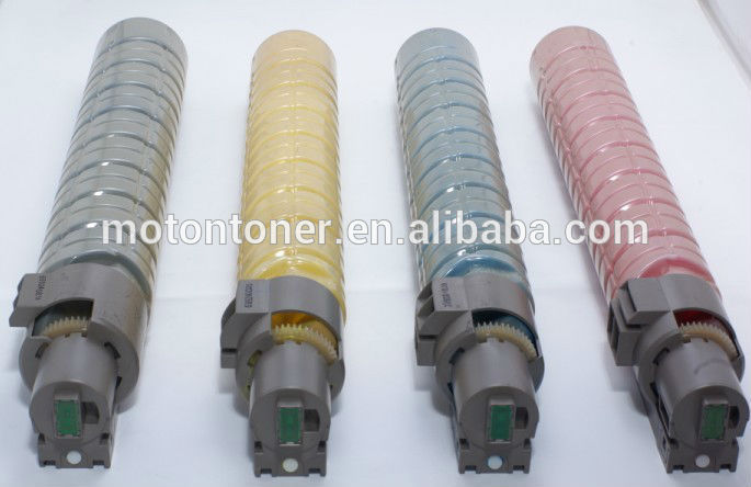 Compatible color toner for MPC2000, MPC2500, MPC3000, ricoh aficio copier machine