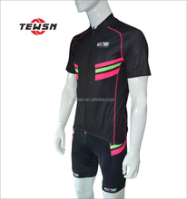 High qulaity tema club race trainning sublimation short sleeves dutch cycling jeresy cycling bib shorts sportswear
