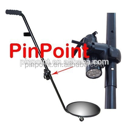 Pinpoint Portable inspection checking mirror Square high-intensity shatterproof under vehicle search mirror