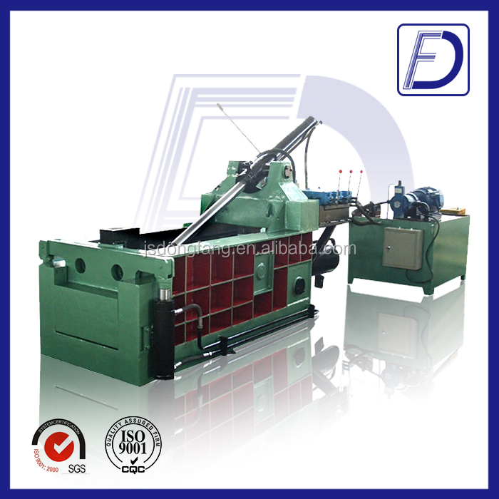 customized tire compressing baler overseas sevices