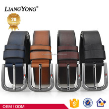 Manufacturer Wholesale Needlepoint Buckle Luxury Pure Cow Split Genuine Leather Elastic Belt Fashion Men High Quality Color Belt