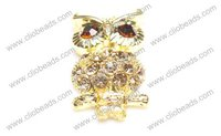 Gold Owl Shape Alloy Spacer