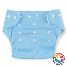 100% Cotton Solid color Baby Cloth Diaper Reusable Nappies Breathable Sleepy Baby Diapers