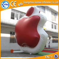 Giant inflatable apple, advertising inflatable model apple for sale