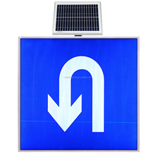 battery operated mobile portable solar traffic light