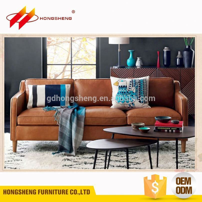 sectional modern euro design leather sofa