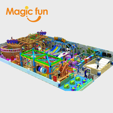 Amusement Park Series Large Toy Plastic Building Blocks for Kids