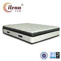 (HL-1)-Hot sale healthy european hotel cheap king size mattresses