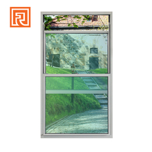 As2047 Certificated aluminium vertical sliding double hung window