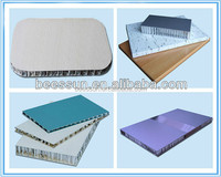 Beecore outdoor usage roof aluminium honeycomb sandwich panel building materials