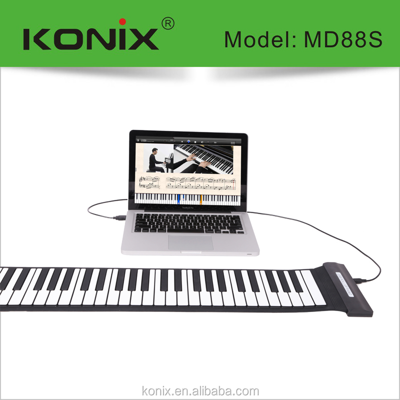 88 soft keyboard piano usb midi keyboard software free