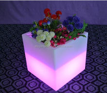 LED Ice Cube Bucket/LED Cube Box L40*W40*H40cm