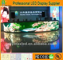 New Indoor circular/arc/camber LED Display