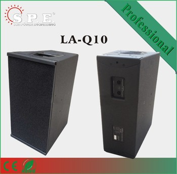 2018 professional Neo line array dual 10 inch impact cabinets