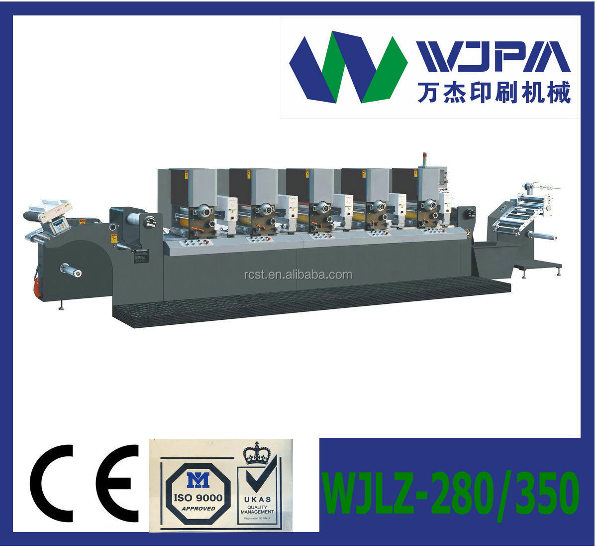 High-speed intermittent and full-rotary die-cutting machine