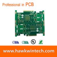 SMD FR4 4 6 8 Layer Gold Fingers PCB OEM Manufacturer