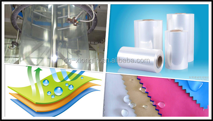 Color TPU film for sport products