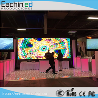 Eachinled led video wall aliexpress Indoor 7.62mm 6mm 4mm pixel pitch led large screen display
