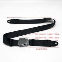 hot products aircraft seat belts factory direct sales cheap price