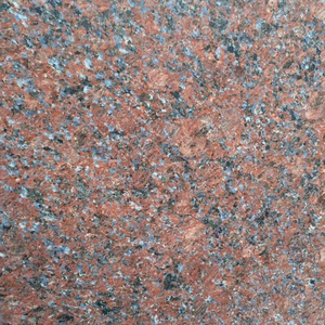 Hot Sale Indian Red Pearl Granite Tiles for Building Decoration