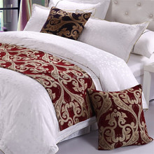 Excellent Design Bed Runner Bed scarves Throws Bedding Linens for Hotel