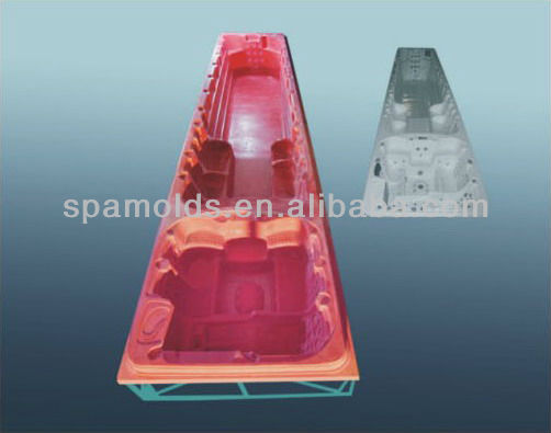 the new style mold for outdoor swim spa