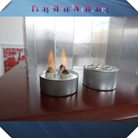 Cotton wick screw chafing dish fuel cans