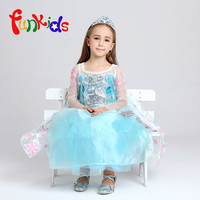 En gros Enfants Costumes kids Party fantaisie Robe Elsa Pricess Enfant Costume