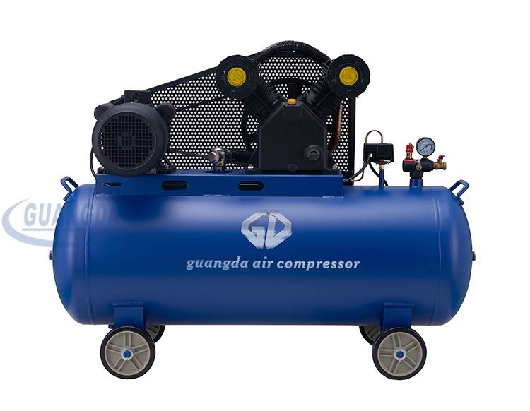 Factory best price 5hp 200L mobile belt air compressor
