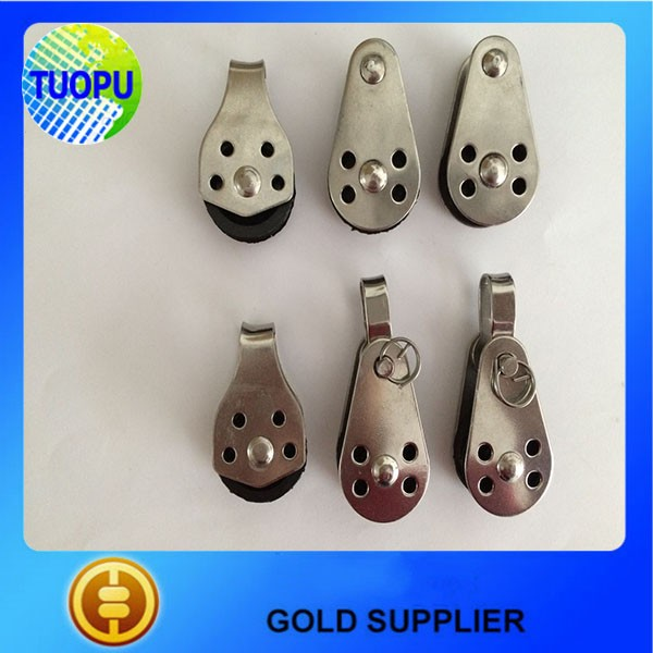 Heavy-duty pulley blocks for marine ,stainless steel pulleys block for boat,stainless steel single block and pulley