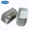Aluminum foil container with lid