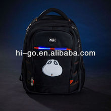 led light durable fashionable children travelling bags