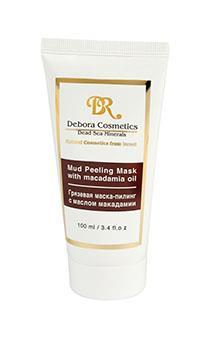 Mud Peeling Maskwith Macadamia Oil and Dead Sea minerals