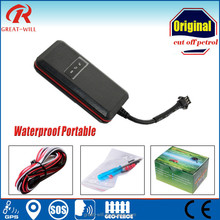 small waterproof internal double antenna engine immobilizer gps car tracker