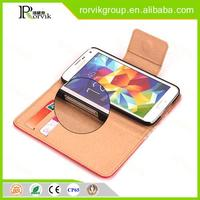 original new flip leather phone case card holder for Samsung Galaxy S5 I9600