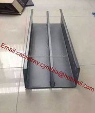 China Steel materials cable tray with cable cover cable joint bolts nuts and washer accessories