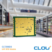 CL7206D3 long range distance UHF RFID reader Module integrated Raspberry pi