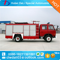 donfeng 4X2 12000KG telescopic ladder fire truck/tin fire truck